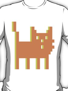 pixel cat massive orange! T-Shirt
