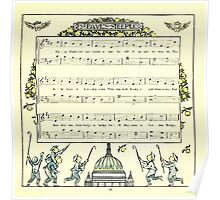 The Baby's Opera - A Book of Old Rhymes With New Dresses - by Walter Crane - 1900-17 St. Paul's Steeple Poster