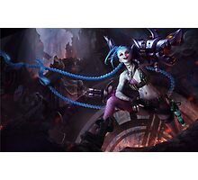Jinx - League of Legends (1) Photographic Print
