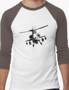 AH-64  Apache Men's Baseball ¾ T-Shirt
