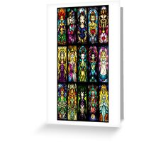 Princess On Glass Greeting Card