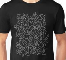 leopard outlines Unisex T-Shirt