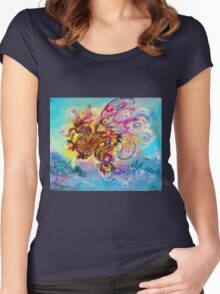 SEA DRAGON Women's Fitted Scoop T-Shirt