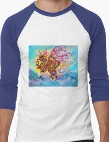 SEA DRAGON Men's Baseball ¾ T-Shirt