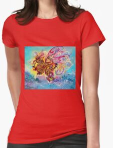 SEA DRAGON Womens Fitted T-Shirt
