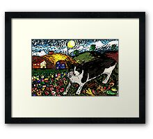 Tasha's Starry Night Out Framed Print