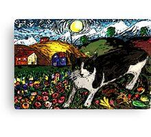 Tasha's Starry Night Out Canvas Print
