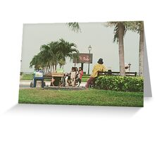 Chilling in Phnom Penh Greeting Card