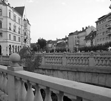 Triple Bridge Ljubljana by justineb