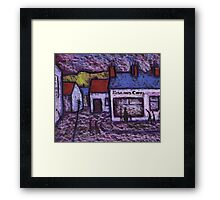 The Fish and Chip Shop  Framed Print