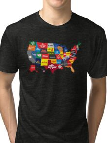 The Corporate States of America Tri-blend T-Shirt