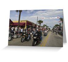 Daytona bike week Greeting Card