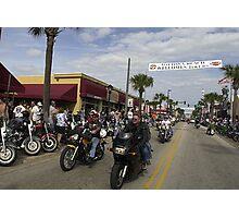 Daytona bike week Photographic Print