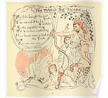 The Baby's Own Aesop by Walter Crane 1908-31 The Man and the Snake Poster