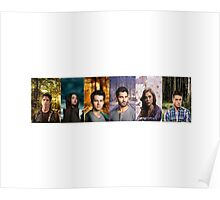 Teen Wolf Cast Into The Woods Poster