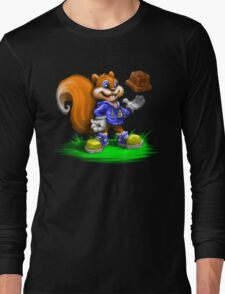 A Squirrel's Comeback Long Sleeve T-Shirt