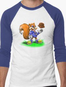 A Squirrel's Comeback Men's Baseball ¾ T-Shirt