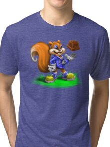 A Squirrel's Comeback Tri-blend T-Shirt