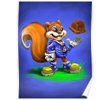 A Squirrel's Comeback Poster