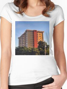 The Defiant Suburbia Women's Fitted Scoop T-Shirt