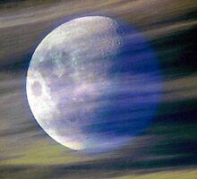 Lunar slipstream by Clive