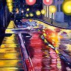 Rainy Night by Reba Hierholzer