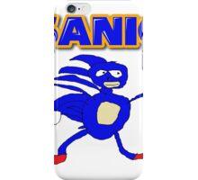Sega Sanic Hedgehog  iPhone Case/Skin
