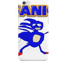 Sega Sanic Hedgehog  iPhone Case/Skin