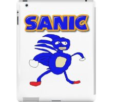 Sega Sanic Hedgehog  iPad Case/Skin