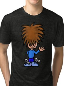 Mort the Mophead Tri-blend T-Shirt