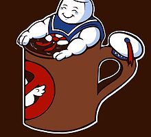 Cup of Stay Puft by jellysoupstudio