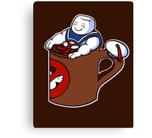 Cup of Stay Puft Canvas Print