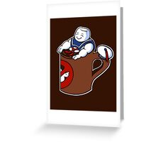 Cup of Stay Puft Greeting Card