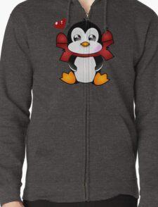 Pingu Zipped Hoodie