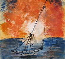 Into the Wind by Linda  Hussey