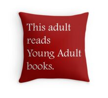 Read Young Adult Books - Fundraiser Throw Pillow