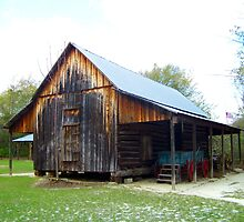 Old Barn by Ellen  Price - Greenwald