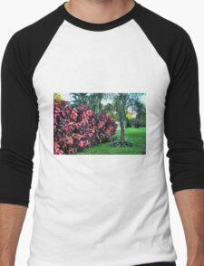 The Spattered Shrub Men's Baseball ¾ T-Shirt