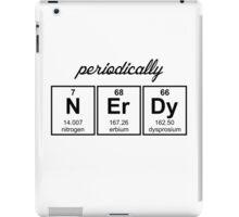 Periodically Nerdy Element Symbols iPad Case/Skin