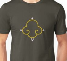 Stylized Buddhist Triple Jewel Unisex T-Shirt