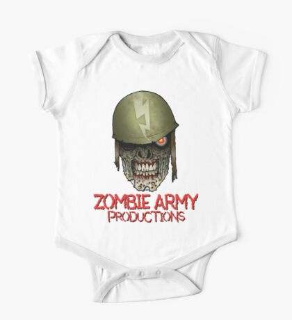 Zombie Army Productions Logo One Piece - Short Sleeve