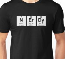 Periodically Nerdy Element Symbols Unisex T-Shirt