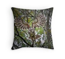 Coming at you! Throw Pillow