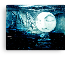 Ghost Ship of the Dutchman Canvas Print