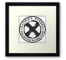 X-Men || School For the Gifted  Framed Print