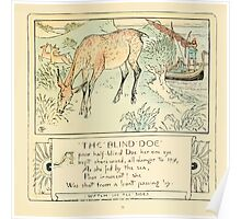 The Baby's Own Aesop by Walter Crane 1908-43 The Blind Doe Poster