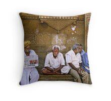 Jaisalmer, India #7 Throw Pillow