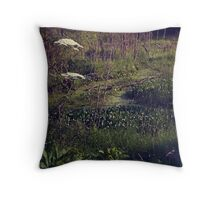 swamp Throw Pillow