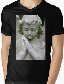 Trip-O-Vision Online Gallery Design 35: Guardian Angel Photography Mens V-Neck T-Shirt