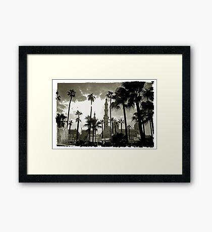 Alexandria, Egypt #1 Framed Print